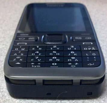 Nokia E55 με πρόβλημα στην πρόσοψη
