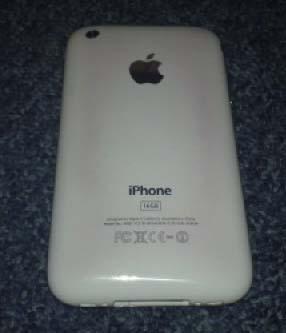 iPhone 3GS με πρόβλημα αλλαγής χρώματος