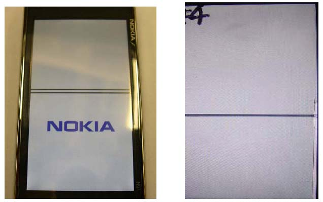Nokia N97 LCD problem
