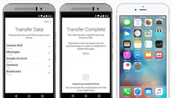 Move to iOS: Η πρώτη εφαρμογή της Apple για Android