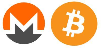 Πληρωμή στο 9Volto με Bitcoin & Monero