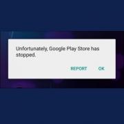 Η εφαρμογη google έχει σταματήσει