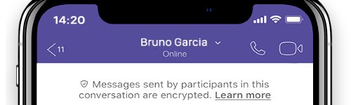 viber encryption data