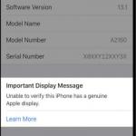 Η Apple προειδοποιεί τους χρήστες των iPhone 11 για imitation οθόνες