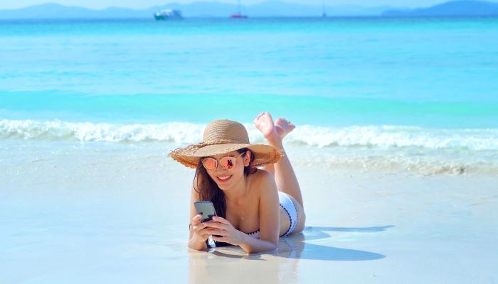 smartphone και καλοκαίρι
